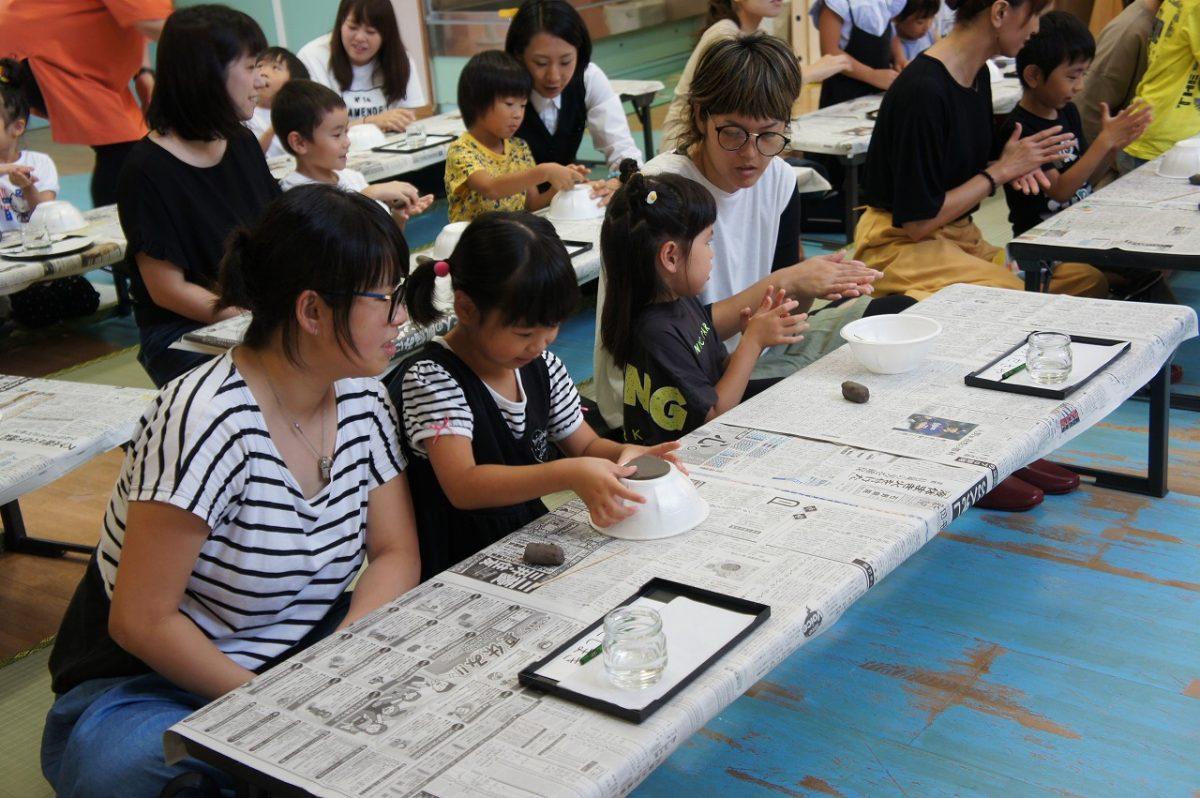 親子陶芸教室(こすもす)