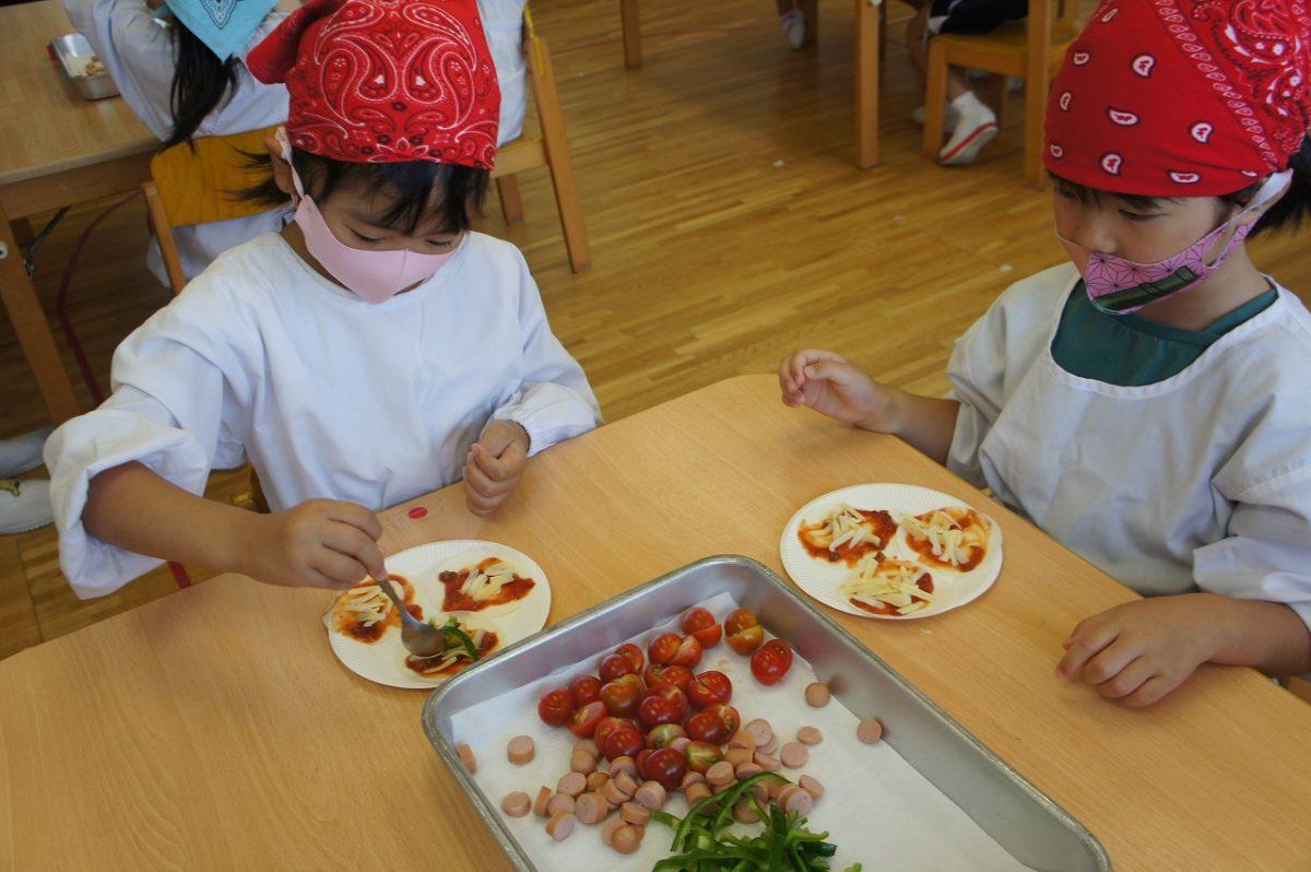 夏野菜ピザを作りました✨(こすもす)